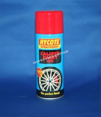 Red Brake Caliper Spray Paint Hycote 400ml Aerosol